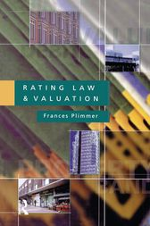 Rating Law and Valuation by Frances A.S. Plimmer