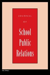 Jspr Vol 27-N1 by Journal of School Public Relations