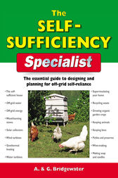 The Self-Sufficiency Specialist by Bridgewater A & G