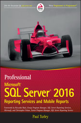 Professional Microsoft SQL Server 2016 Reporting Services and Mobile Reports by Paul Turley
