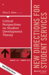 Critical Perspectives on Student Development Theory by Abes