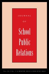 JSPR Vol 35-N1 by Journal of School Public Relations