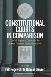 Constitutional Courts in Comparison by Ralf Rogowski