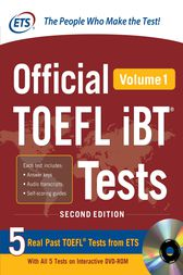 Official TOEFL iBT® Tests Volume 1, 2nd Edition by Educational Testing Service