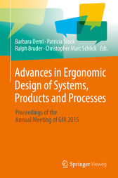 Advances in Ergonomic Design  of Systems, Products and Processes by Barbara Deml