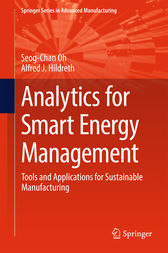 Analytics for Smart Energy Management: Tools and Applications for Sustainable Manufacturing