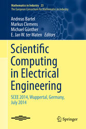 Scientific Computing in Electrical Engineering by Andreas Bartel