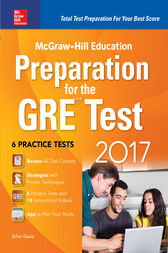 McGraw-Hill Education Preparation for the GRE Test 2017 by Erfun Geula
