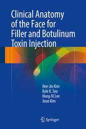 Clinical Anatomy of the Face for Filler and Botulinum Toxin Injection by Hee-Jin Kim