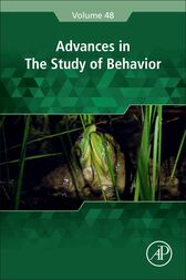 Advances in the Study of Behavior by Marc Naguib