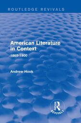 American Literature in Context by Andrew Hook