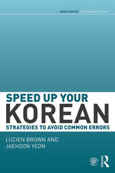 Speed up your Korean by Lucien Brown