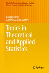 Topics in Theoretical and Applied Statistics by Giorgio Alleva
