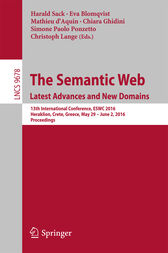 The Semantic Web. Latest Advances and New Domains by Harald Sack