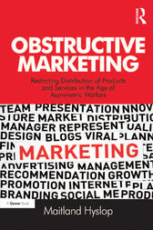Obstructive Marketing by Maitland Hyslop