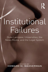 Institutional Failures by Howard M. Wasserman