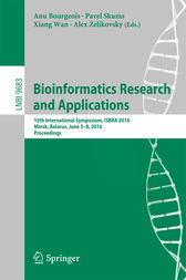 Bioinformatics Research and Applications by Anu Bourgeois