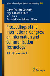 Proceedings of the International Congress on Information and Communication Technology by Suresh Chandra Satapathy