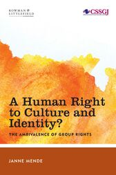 A Human Right to Culture and Identity by Janne Mende
