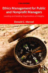 Ethics Management for Public and Nonprofit Managers by Donald C Menzel
