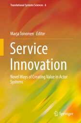 Service Innovation by Marja Toivonen