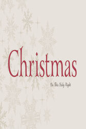 Christmas: On This Holy Night by Thomas Nelson