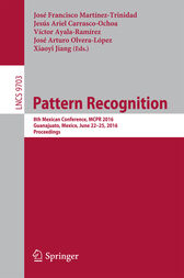 Pattern Recognition by José Francisco Martínez-Trinidad