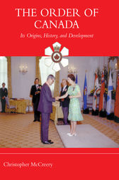 The Order of Canada by Christopher McCreery
