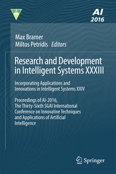 Research and Development in Intelligent Systems XXXIII by Max Bramer