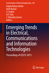 Emerging Trends in Electrical, Communications and Information Technologies by Kapila Rohan Attele