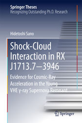 Shock-Cloud Interaction in RX J1713.7−3946 by Hidetoshi Sano