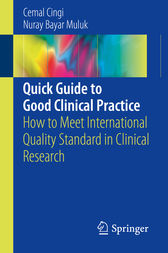 Quick Guide to Good Clinical Practice by Cemal Cingi