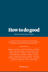 How to do Good by Philanthropy Age