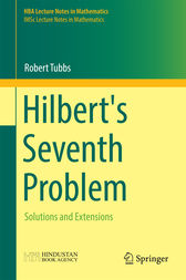 Hilbert's Seventh Problem by Robert Tubbs