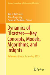 Dynamics of Disasters—Key Concepts, Models, Algorithms, and Insights by Ilias S. Kotsireas