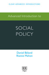 Advanced introduction to Social Policy by Daniel Béland