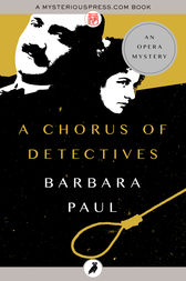 A Chorus of Detectives by Barbara Paul