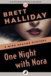 One Night with Nora by Brett Halliday