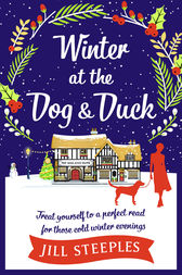 Winter at the Dog & Duck by Jill Steeples