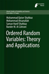 Ordered Random Variables: Theory and Applications by Muhammad Qaiser Shahbaz