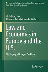 Law and Economics in Europe and the U.S. by Alain Marciano