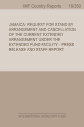 Jamaica by International Monetary Fund. Western Hemisphere Dept.