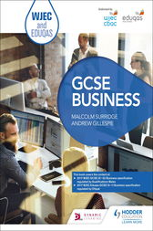 WJEC and Eduqas GCSE Business by Malcolm Surridge