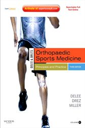 DeLee and Drez's Orthopaedic Sports Medicine E-Book by Mark D. Miller