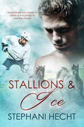 Stallions and Ice by Stephni Hecht