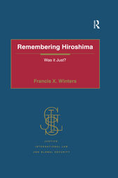 Remembering Hiroshima by Francis X. Winters