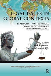 Legal Issues in Global Contexts by Kirk St. Amant