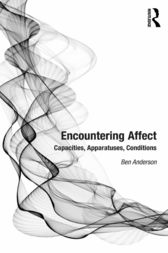 Encountering Affect by Ben Anderson