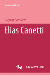 Elias Canetti by Dagmar Barnouw