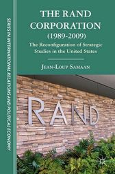 The RAND Corporation (1989-2009) by Renuka George